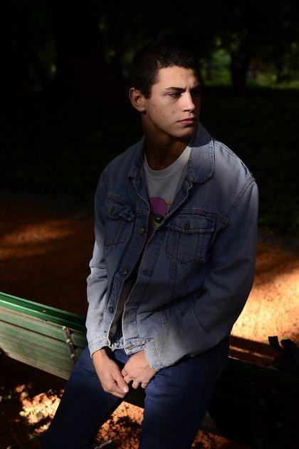 Cuando llegó a Buenos Aires, además de comenzar a estudiar, el actor realizó algunos trabajos como modelo (Luz Tardón)