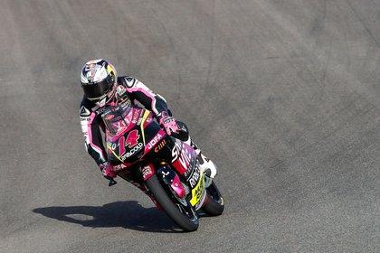 El piloto italiano de Moto3 Tony Arbolino (Rivacold Snipers Team). EFE/Román Ríos/Archivo