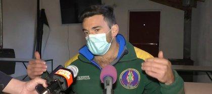 Nicolás D'Agostino, jefe segundo del SPLIF de El Bolsón