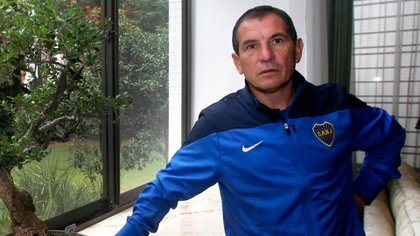 """Luis """"Topo"""" Lúquez ganó 15 títulos en sus 16 años como entrenador en divisiones inferiores de Boca (www.bocajuniors.com.ar)"""