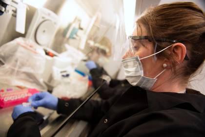 """El ensayo clínico europeo """"Discovery"""", destinado a probar la efectividad de cuatro moléculas o combinaciones de moléculas contra COVID-19, entre ellas la discutida """"hidroxicloroquina"""", tuvo un tropiezo y se encuentra pendiente (REUTERS/Craig Lassig)"""