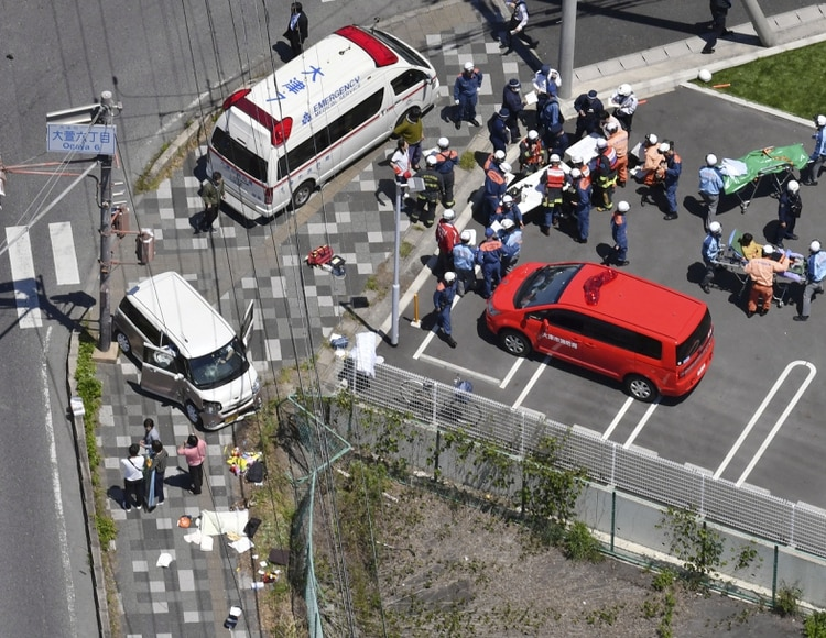 Japón: un vehículo embistió a un grupo de niños de un jardín de infancia y dejó dos muertos y varios heridos