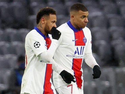 Desde París están confiados en que ambas estrellas continúen en el club (Reuters)