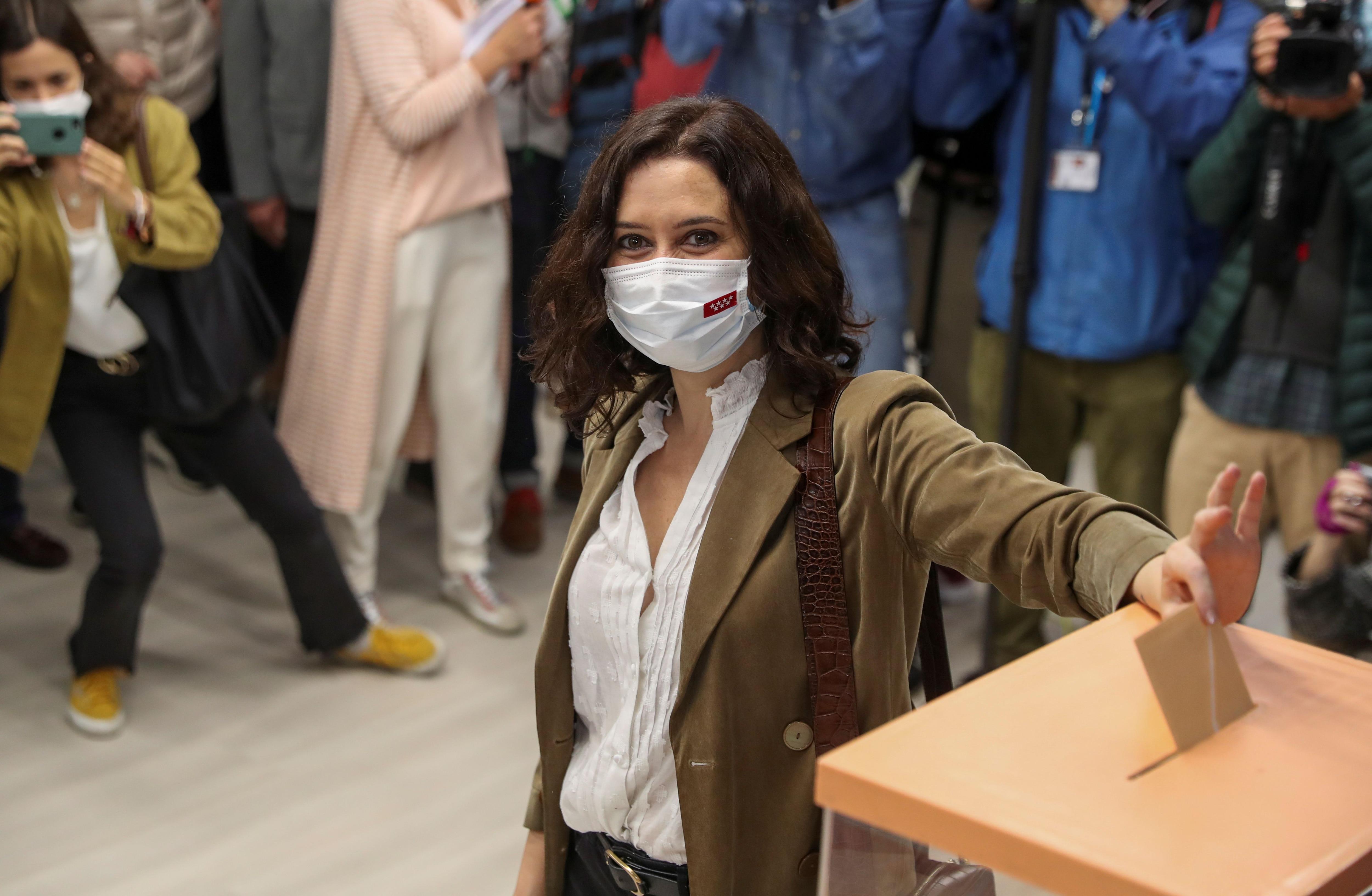 Isabel Díaz Ayuso, presidenta de Madrid y líder del Partido Popular (REUTERS/Susana Vera)