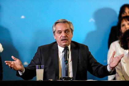 El presidente Alberto Fernández. (EFE/Juan Ignacio Roncoroni/Archivo)