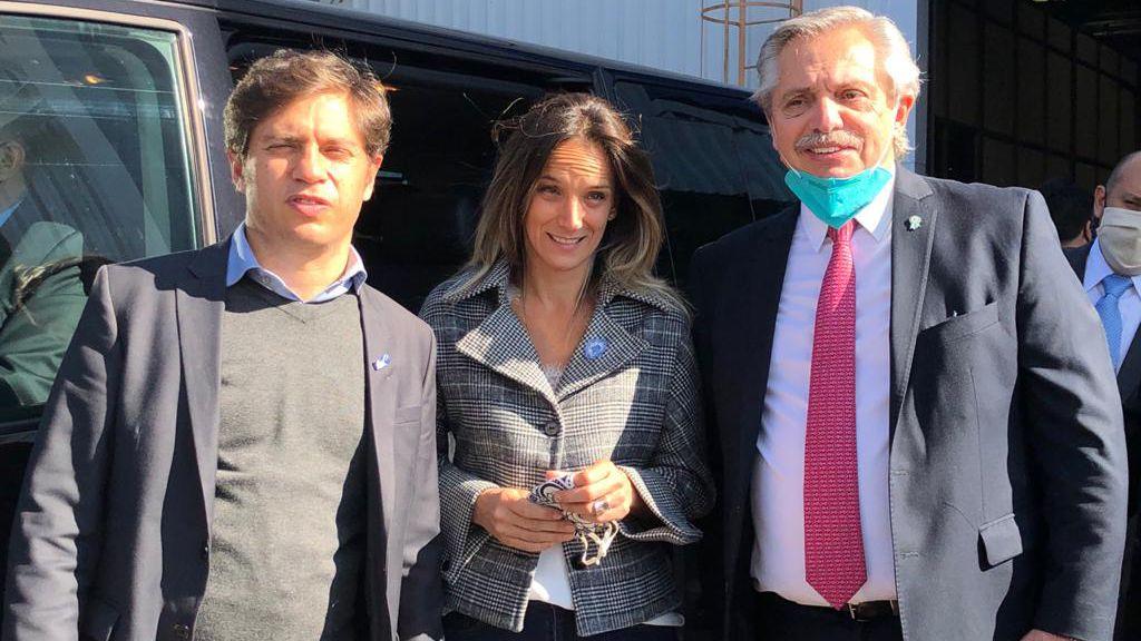 El presidente Alberto Fernández encabezó esta semana un acto en la planta de Volskwagen ubicada en el partido de Tigre.