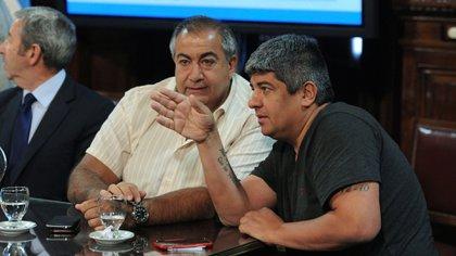 Héctor Daer y Pablo Moyano