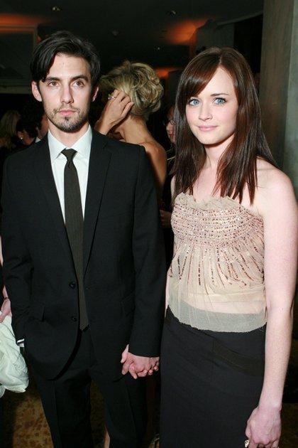 """Milo Ventimiglia y Alexis Bledel comenzaron una relación durante los rodajes de """"Gilmore Girls"""" (Shutterstock)"""