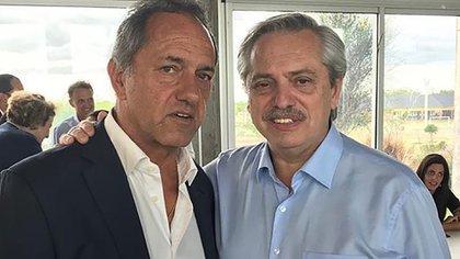 El presidente Alberto Fernandez encomendó a Scioli la tarea de encauzar las relaciones con Brasil (@danielscioli)