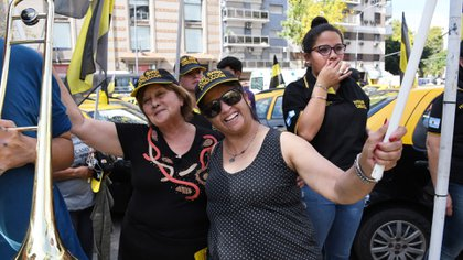 Hoy se espera otra movilización hacia Plaza de Mayo (Fabián Ramella)