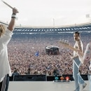 Queen en el Live Aid de 1985 (Foto: Grosby Group)