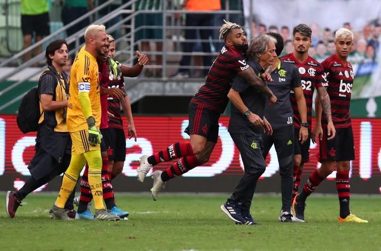 El Flamengo perdió solo tres partidos de 36 disputados REUTERS/Amanda Perobelli