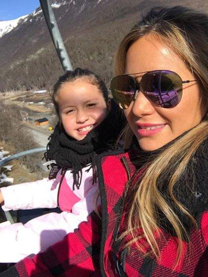 Karina La Princesita junto a su hija Sol
