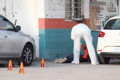 Ataques a negocios en Celaya, Guanajuato (Foto: Cuartoscuro)