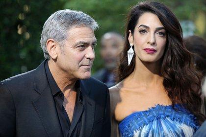 Se casó con Amal un 27 de septimbre de 2014, un año después de regalar un millón de dólares a sus amigos (Crédito: Shutterstock)