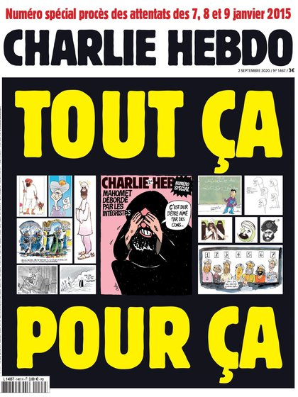 Portada de la revista 'Charlie Hebdo'