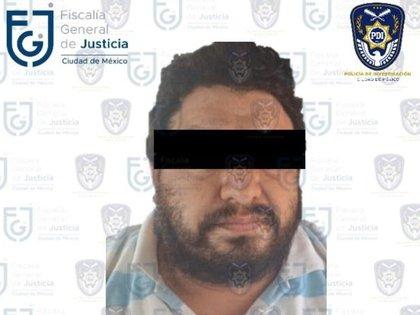 Everardo era conductor de transporte público y el 14 de febrero atropelló y mató a un ciclista en la Ciudad de México Foto: (Fiscalía CDMX)
