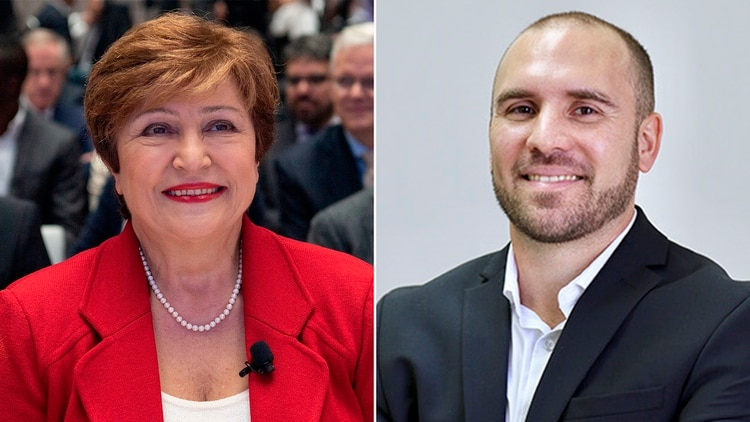 Guzmán confirmó que se reunión con Kristalina Georgieva, número uno del Fondo antes de asumir