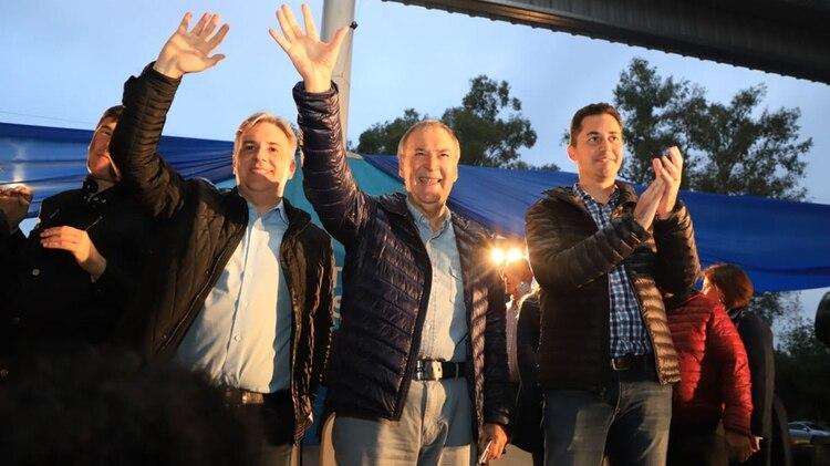 Llaryola es diputado nacional y logró un amplio triunfo en las elecciones municipales (Twiiter: @JSchiaretti)