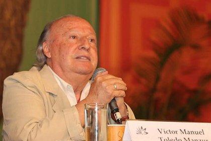 """Víctor Manuel Toledo decía en un audio que """"la 4T esta llena de contradicciones"""" (Foto: Archivo)"""