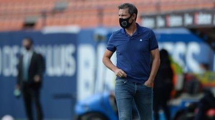 Prevemos que nos falten jugadores por COVID-19, lamentó Gabriel Caballero (Foto: Twitter @fcjuarezoficial)