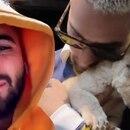 En el video el cantante se encontraba en el santuario de felinos con el que colabora (Instagram @Maluma)