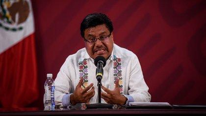 Adelfo Regino Montes confirmó que están preparando una reforma constitucional sobre comunidades indígenas (Foto: Pedro Anza / Cuartoscuro)