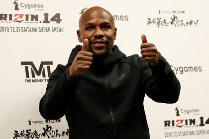 Floyd Mayweather fue el atleta con mayores ingresos del mundo durante sus últimos años como boxeador (Reuters)