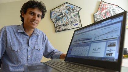 Pablo Lucángeli Obesn es un ingeniero Industrial especializado en Desarrollo Sustentable y docente de los talleres de Climate Interactive en Argentina. Foto: Fernando Calzada.