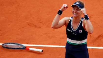 Nadia Podoroska llegó hasta las semifinales de Roland Garros (REUTERS/Gonzalo Fuentes)