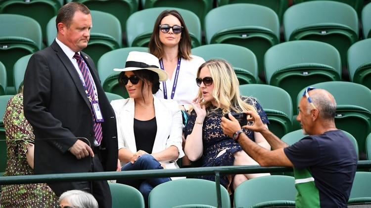 Prohibido fotografiar a Meghan Markle: el último escándalo de la duquesa en Wimbledon
