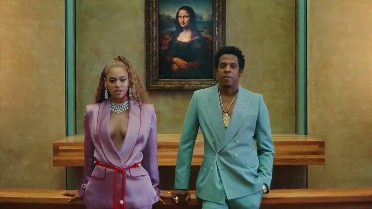 Beyoncé con Jay-Z . Es uno de los matrimonios más influyentes y poderosos de la industria