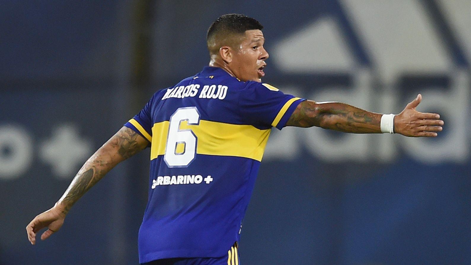 Marcos Rojo sigue en plena adaptación al Mundo Boca (REUTERS/Marcelo Endelli)