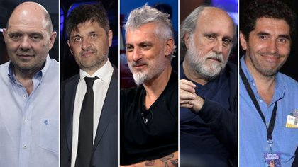 Carlos Rottemberg, Marcelo Figoli, José Palazzo, Daniel Grinbank y Juan Manuel López Ghisoli