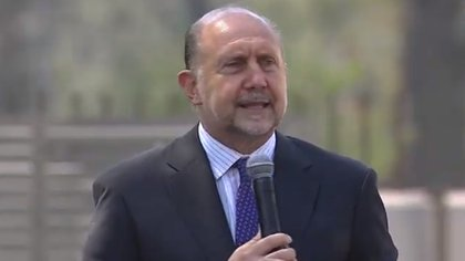 Omar Perotti, gobernador de Santa Fe.