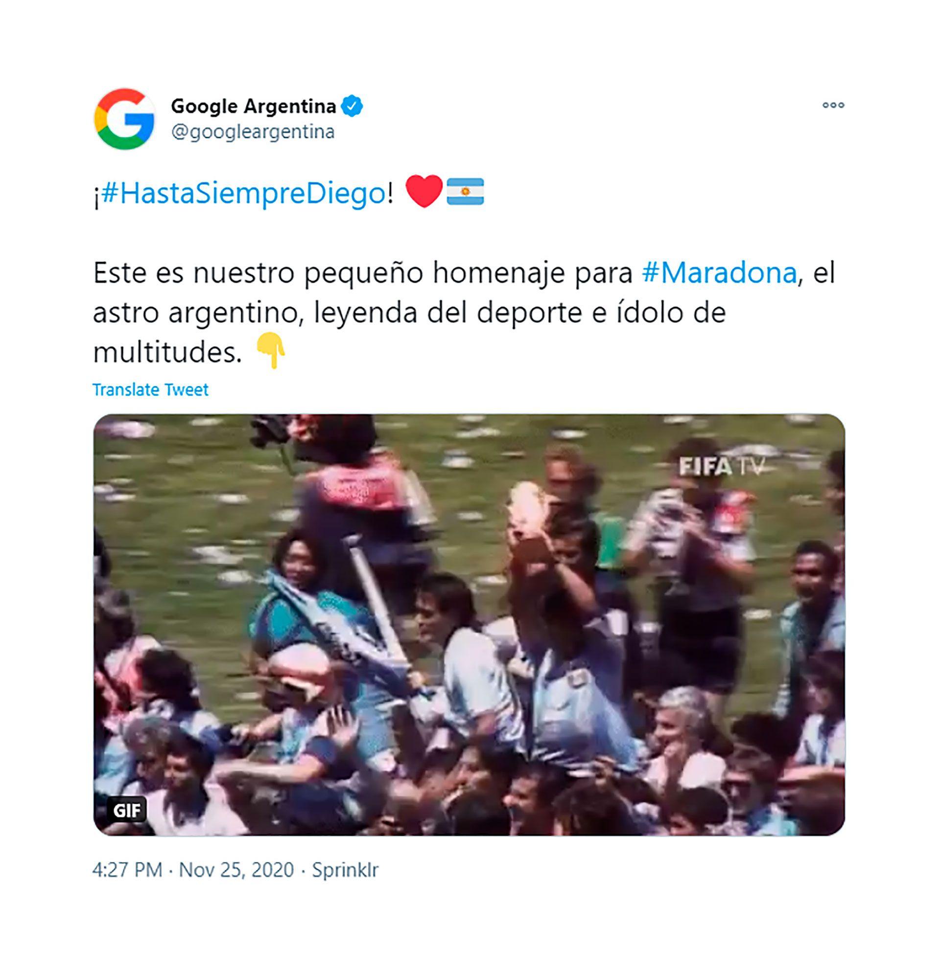 google maradona 2
