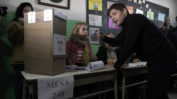 El ex ministro de Economía logra un triunfo abrumador en la provincia de Buenos Aires (Pablo Barrera)