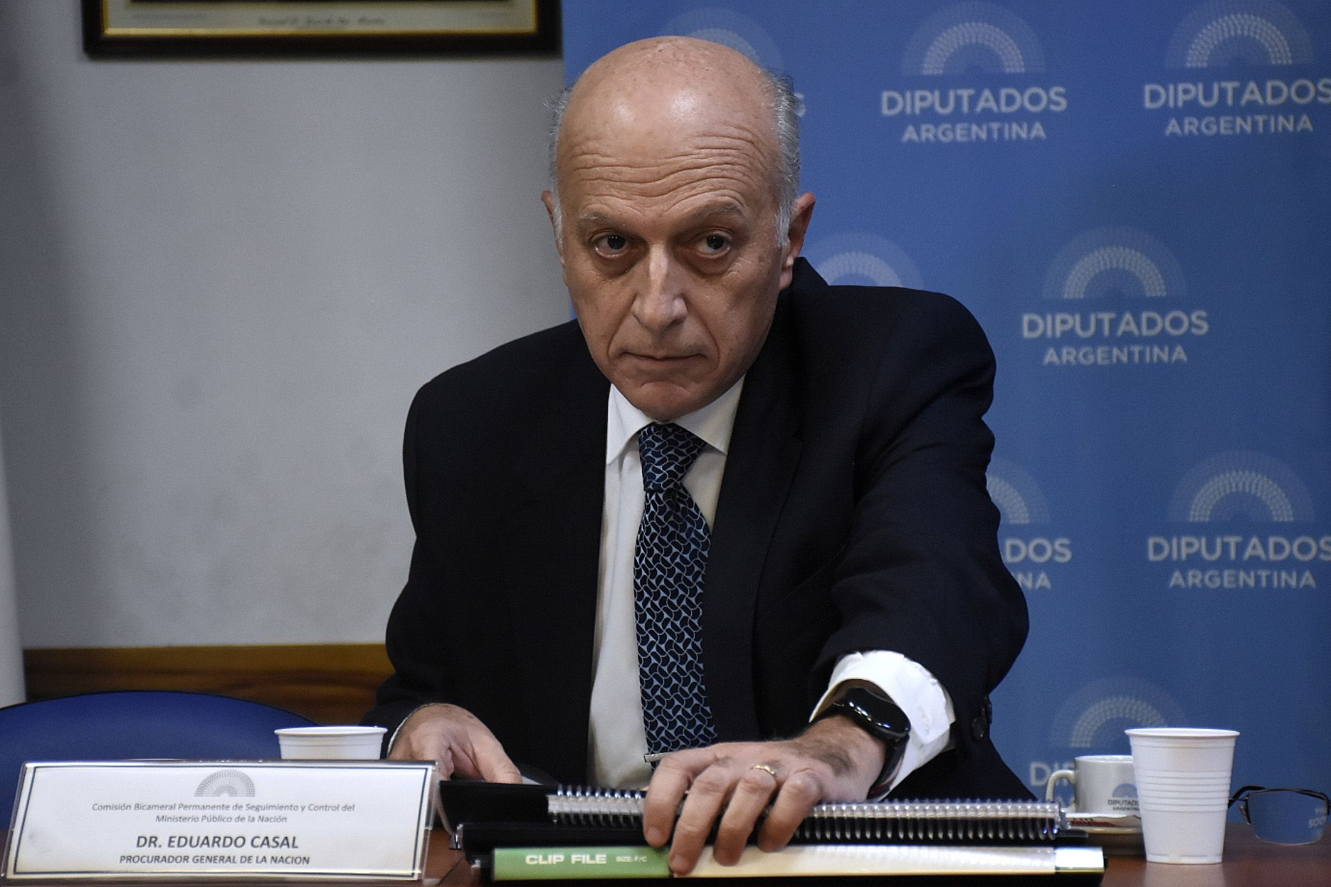 Procurador general interno Eduardo Casal (Nicolás Stulberg)