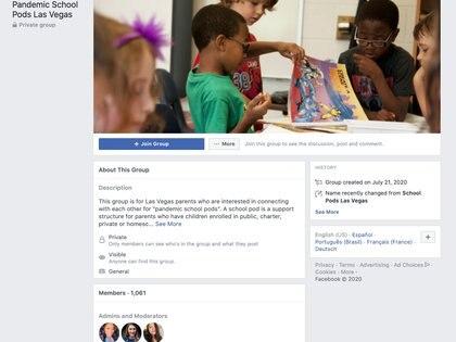 Una educadora de Nevada, Zurii D'Ambra, intenta hacer microescuelas para familias de recursos escasos de Las Vegas, una población mayoritariamente latina.