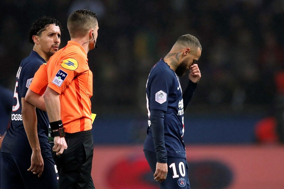 El PSG venció al Bordeaux 4-3: el insólito gol que sufrió y la expulsión de Neymar - Infobae