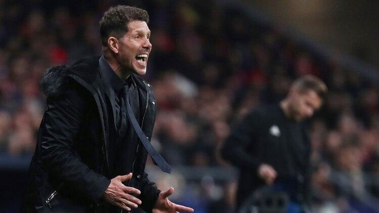 Diego Simeone es uno de los entrenadores mejores pagos del planeta (Reuters)