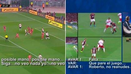 Una nueva medida en la CONMEBOL dice que ahora se deben hacer públicos los audios entre los responsables del VAR y el árbitro. (Foto: Especial)