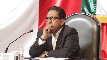 Mario Rodríguez, presidente de la comisión de Vigilancia de la ASF en San Lázaro, adelantó que se reunirán con el auditor separado del cargo (Foto: Cortesía Cámara de Diputados)