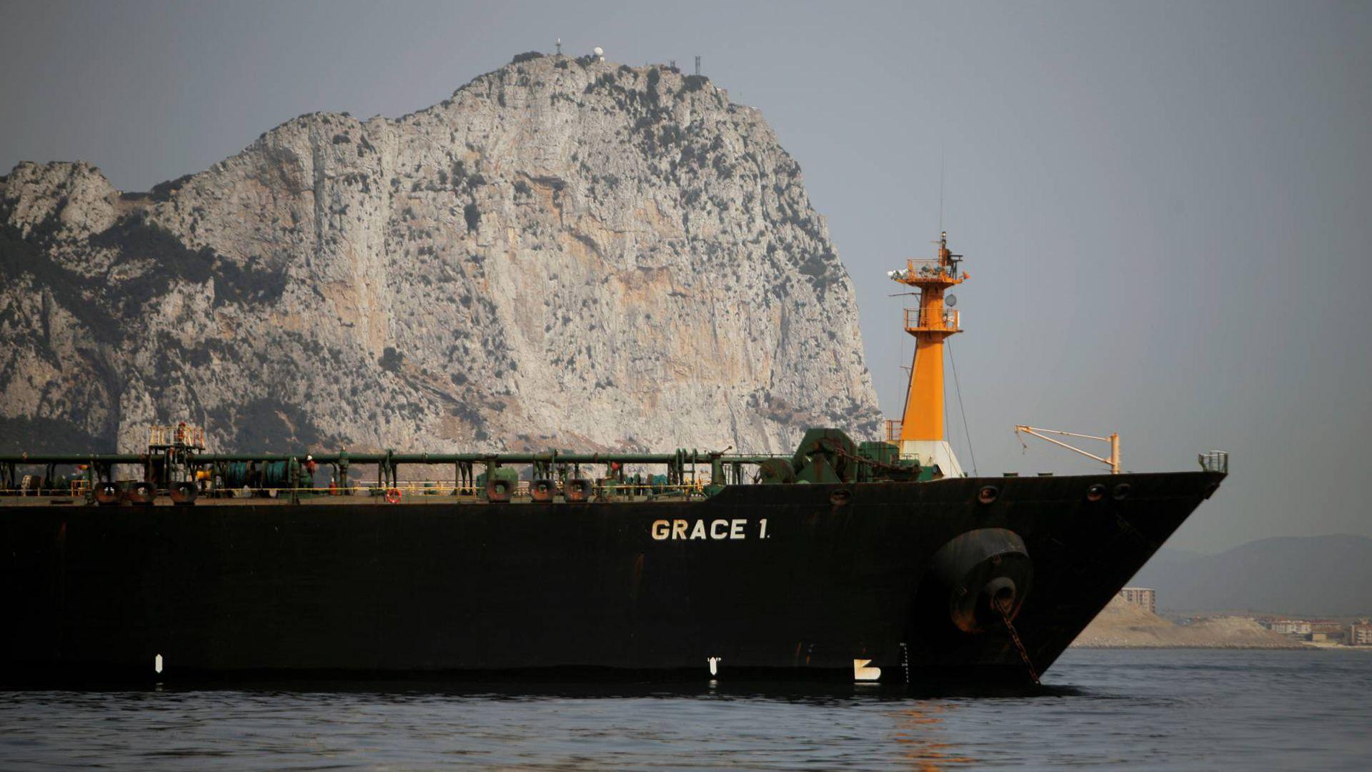"""""""Grace 1"""", el petrolero iraní retenido en Gibraltar"""