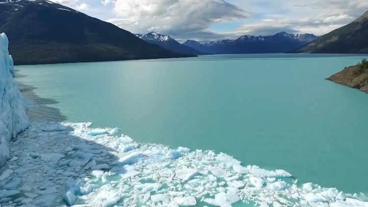 El glaciar Perito Moreno no sufriría impacto al reducirse las cotas de las presas