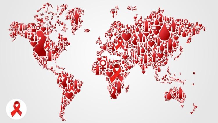 Sida: una epidemia responsable de 770.000 muertes y 1,7 millones de nuevas infecciones por VIH solo en 2018. (Shutterstock.com)