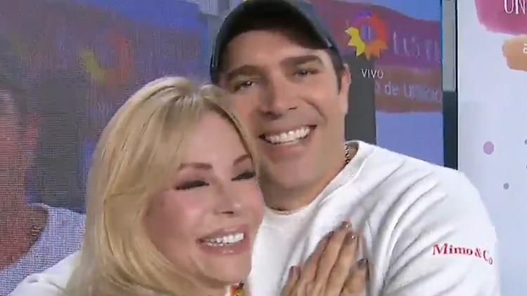Graciela Alfano y Matías Alé se reencontraron hace un tiempo en