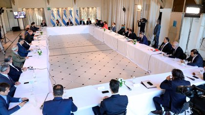 El jueves se reunieron en la Quinta de Olivos el presidente Alberto Fernández y los gobernadores