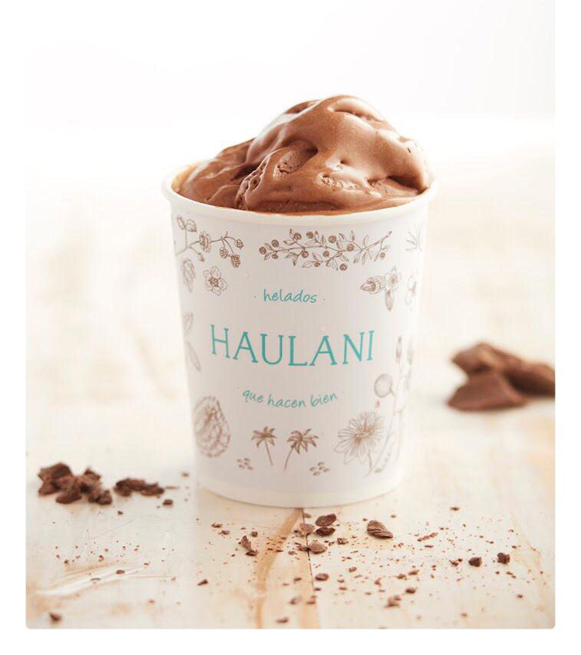 El pote de chocolate con leche de almendras, un clásico de Haulani
