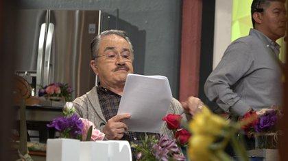 """Pedro Sola durante uno de los cortes de """"Ventaneando"""" (Foto: Juan Vicente Manrique / Infobae)"""